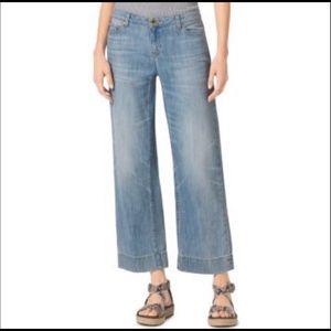 Michael Kors Wide Leg Crop Jeans Size 0